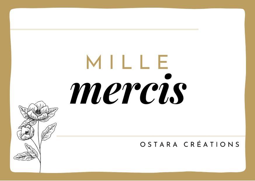 MILLE MERCIS