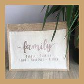 FAMILY 🌸🤍 #cabas #cabaspersonnalisé #fetedesgrandsmeres
