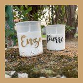 Une mini bougie 100% personnalisée pour vos cérémonies (mariage, baptêmes, décès...) 🕊 #bougiepersonnalisée #commemorative