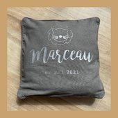 🦁 BABY MARCEAU 🦁 #coussinpersonnalisé #lion